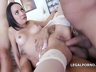 LegalPorno - Double Addicted Francys Belle Ginger Fox D anal big tits