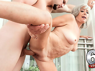 Silva Fucks Her Step-Son: Jmac - Silva Foxx And J Mac - 60PlusMilfs big ass big tits