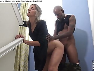 blonde fucked by black guy during party amateur blonde