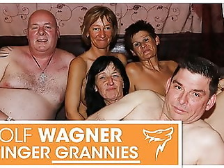 Ugly mature swingers have a fuck fest! Wolfwagner.com amateur blowjob